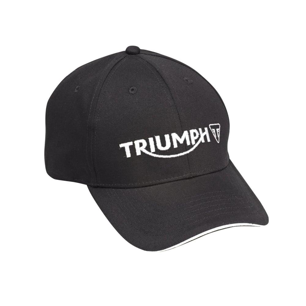 Triumph Logo Cap – Black